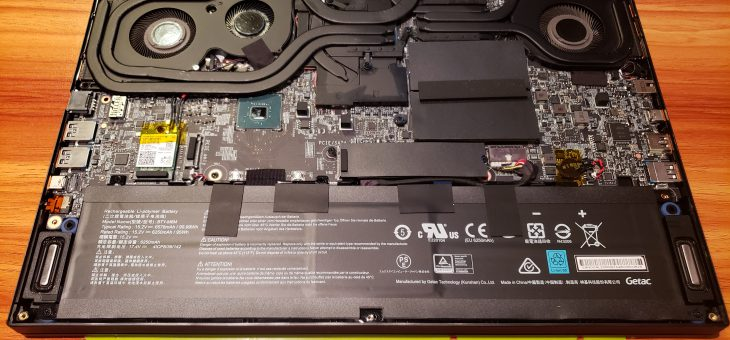 MSI GS66 – more storage for laptop!